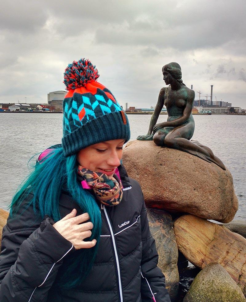 estatua pequena sereia copenhagen dicas