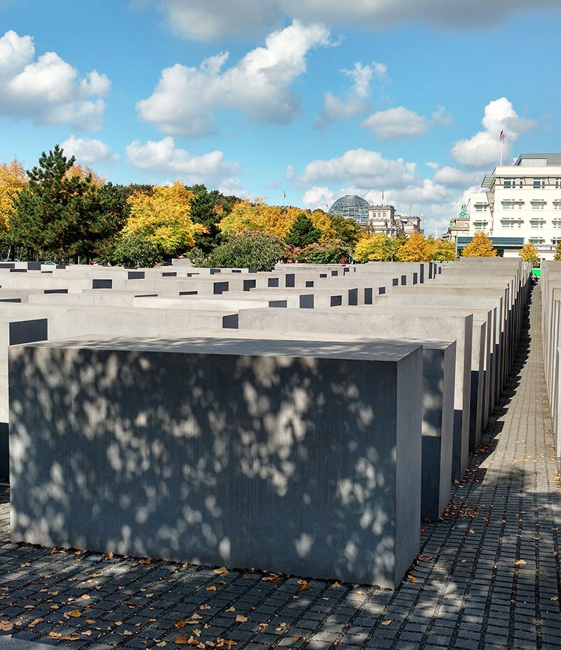 memorial aos judeus mortos na europa berlim