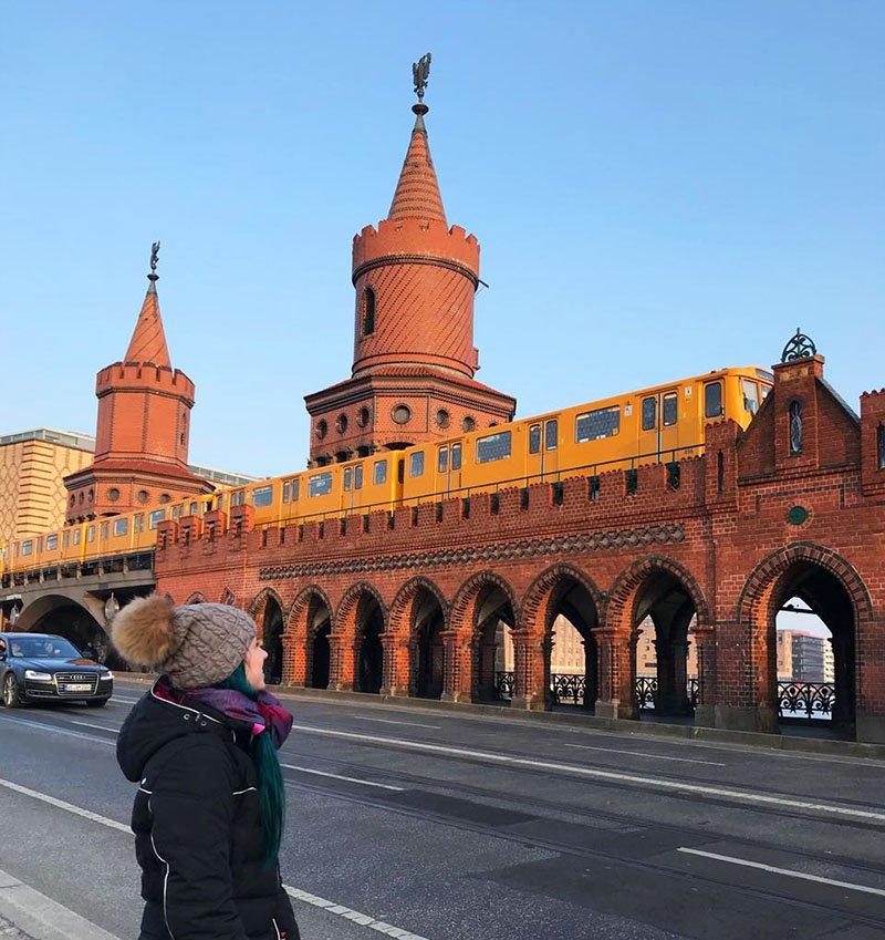 oberbaumbrucke turismo em berlim metro