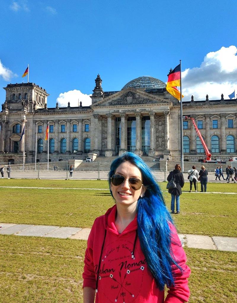 roteiro em berlim parlamento alemao reichstag