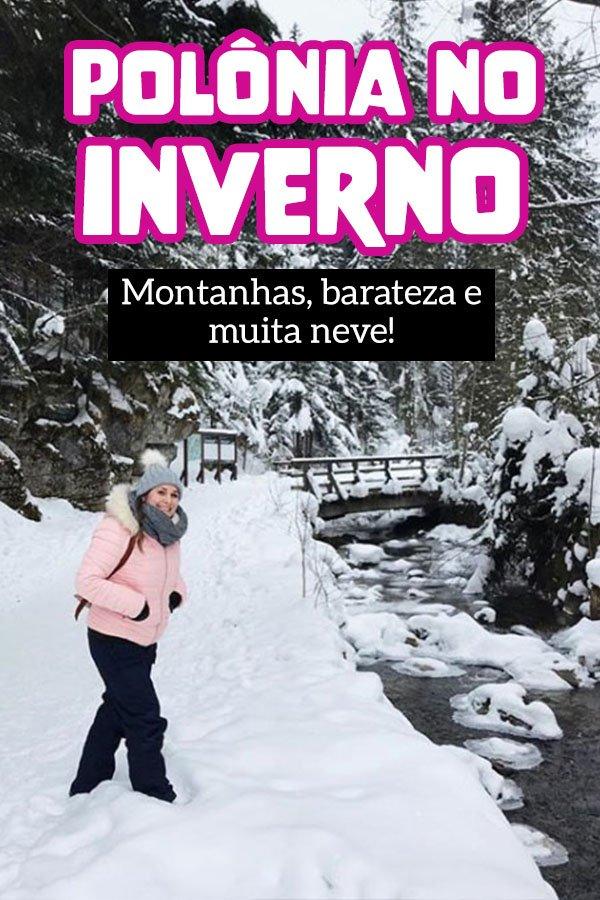 Turismo barato na Europa no inverno, ski, snowboard e montanhas com neve