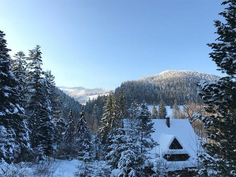 inverno na europa polonia zakopane snowboard