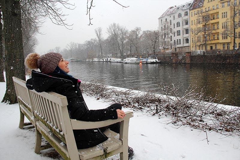 neve na alemanha inverno berlim