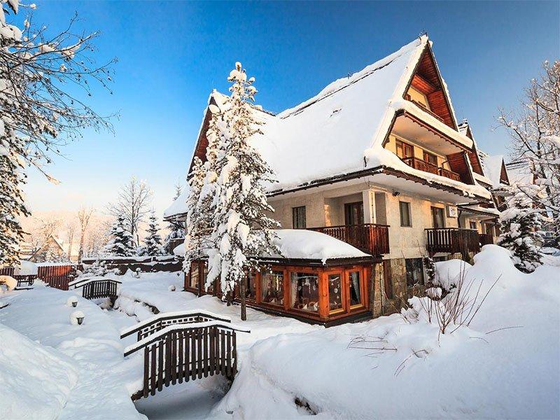 onde se hospedar em zakopane inverno cabana