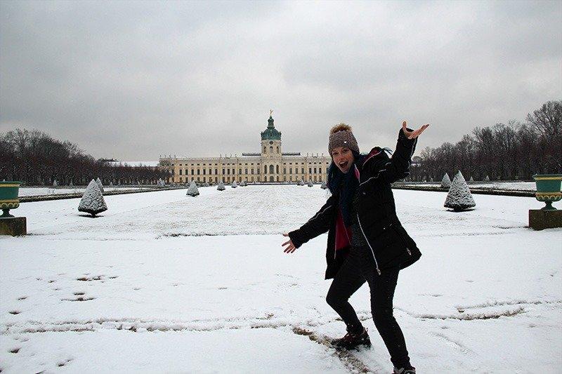 parque charlottenburg na neve berlim