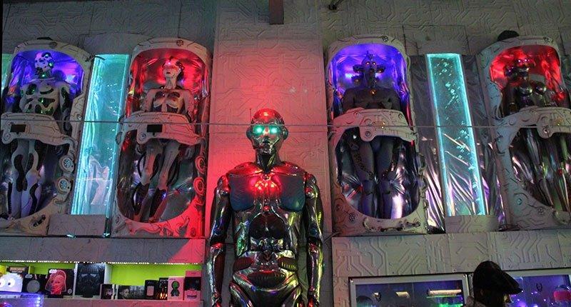 robos gigantes loja produtos alternativos londres camden town