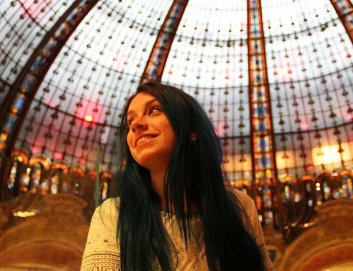 Galeries Lafayette Paris Haussman cupula