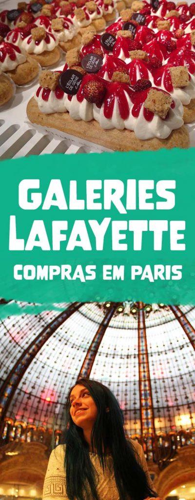 Galeries Lafayette guia de compras em Paris, desconto e reembolso do imposto
