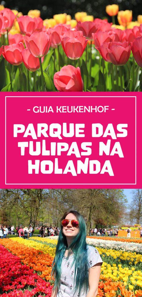 Guia Parque das Tulipas na Holanda, como visitar, ingressos e muito mais!