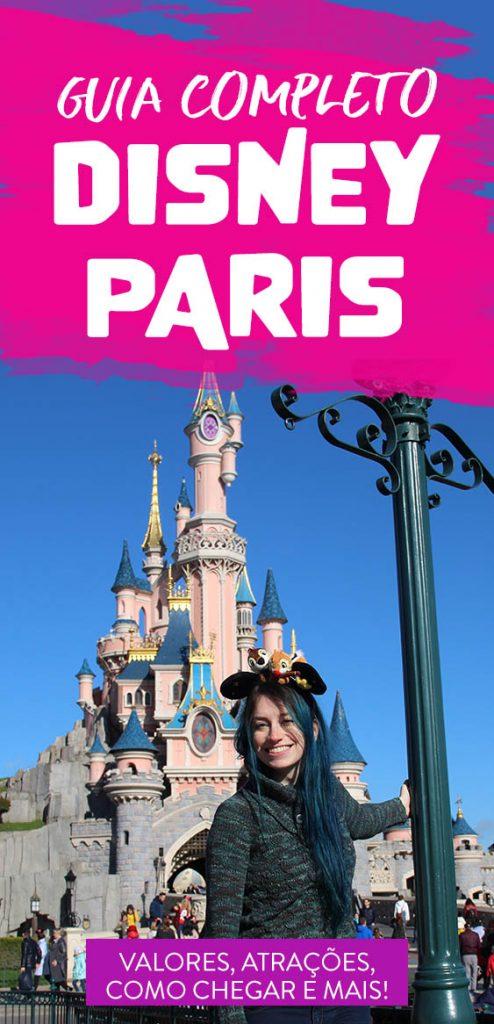 Guia completo Disneyland Paris, valores, ingressos, atrações
