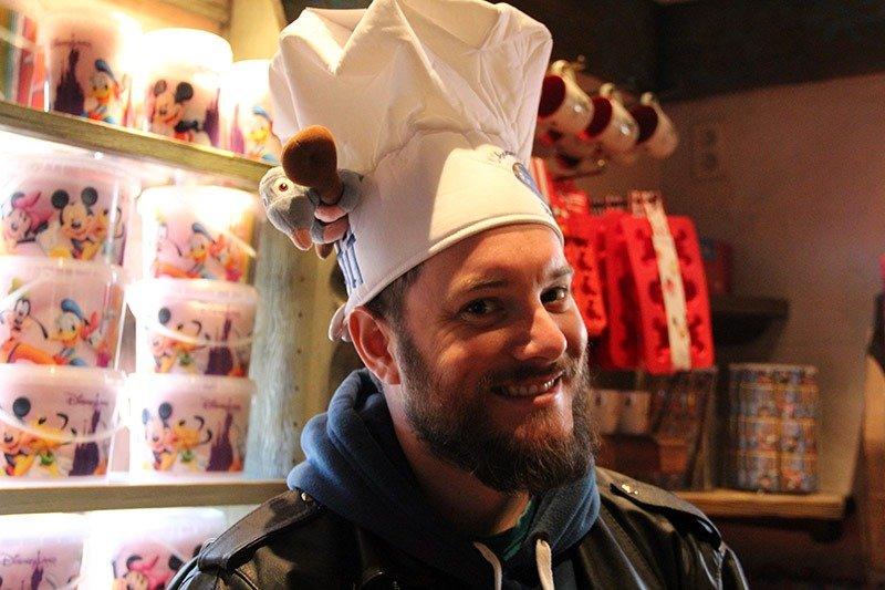 chapeu de chef ratatouille