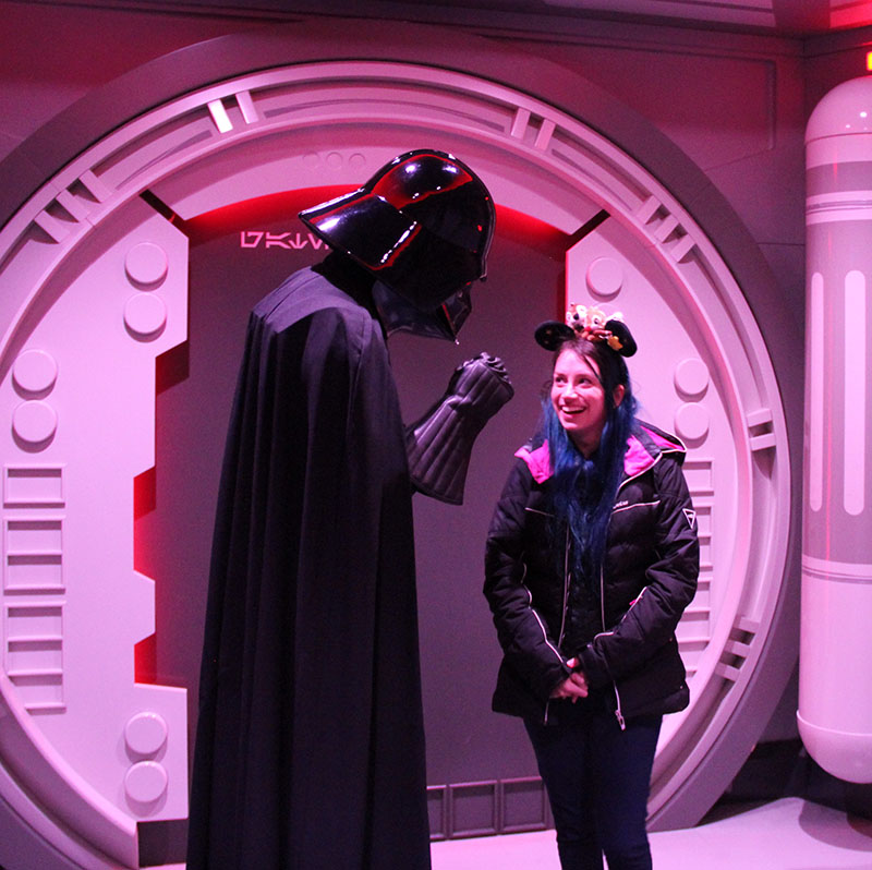 encontrar o darth vader na disney land paris