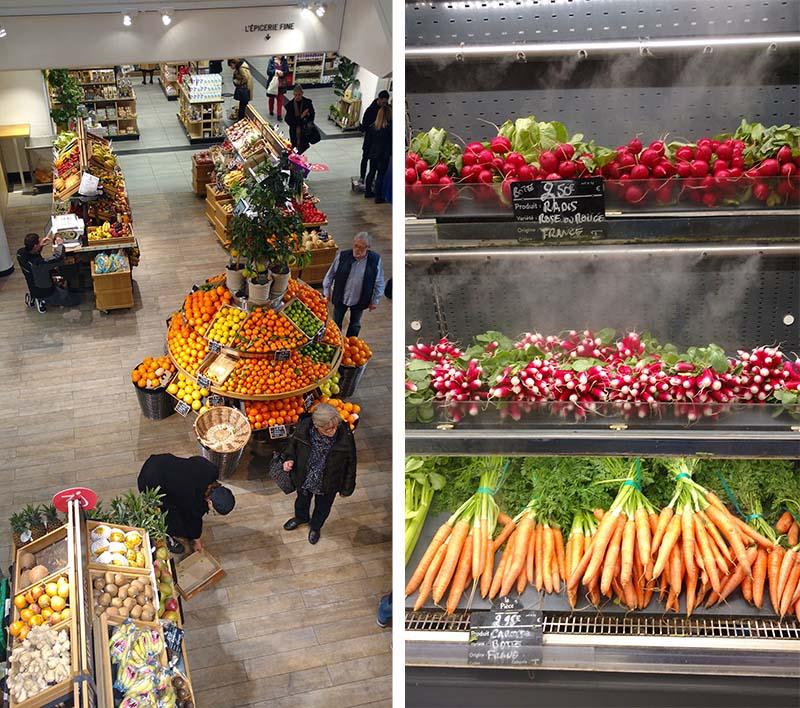 galerias lafayette gourmet comidas frutas