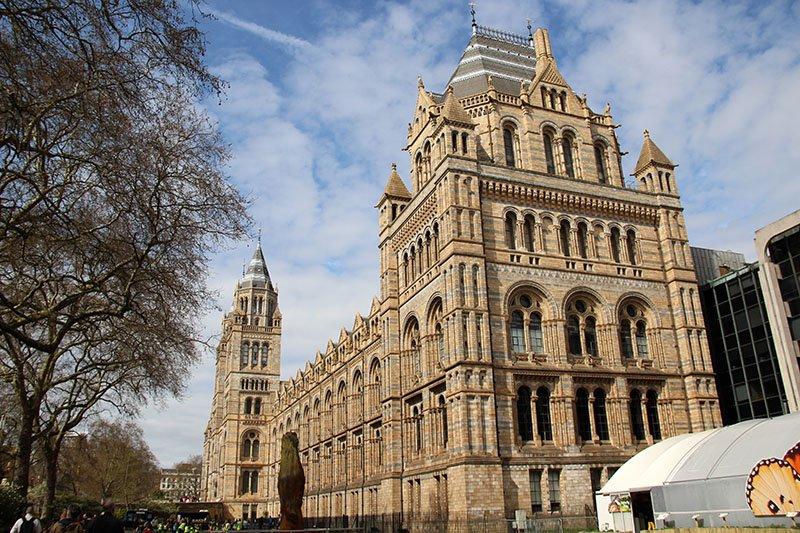 museu de historia natural londres fachada