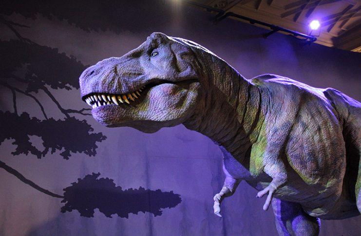 simulacao tiranossauro rex museu em londres viajar com crianca em londres