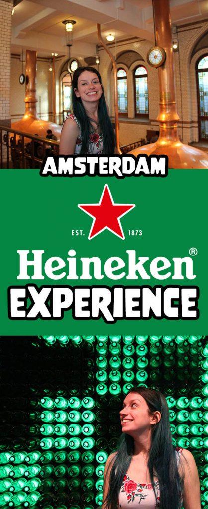 Heineken Experience em Amsterdam, veja como é o tour pela cervejaria! Dicas e valores