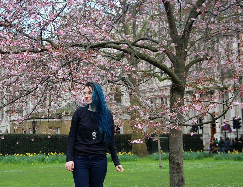 cerejeiras st james park roteiro em londres