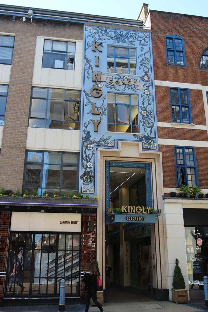 kingly court carnaby street compras em londres