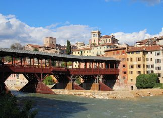 ponte famosa bassano del grappa