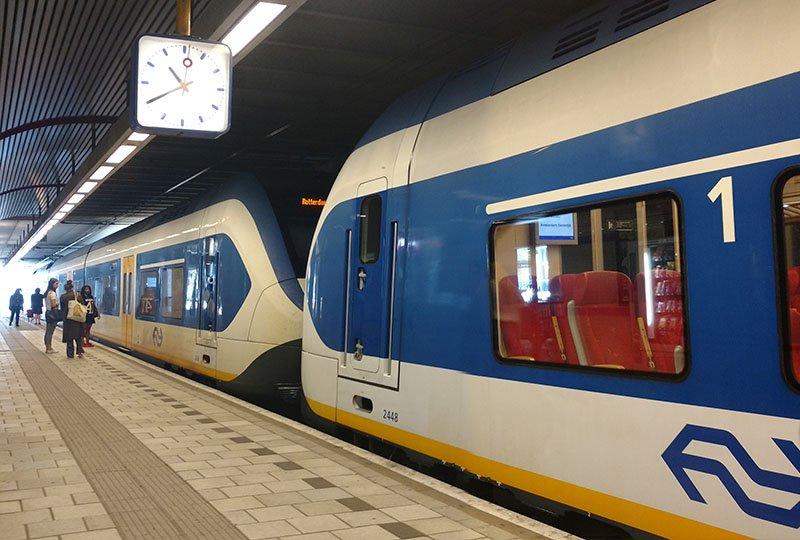 viajando de trem na holanda como funciona