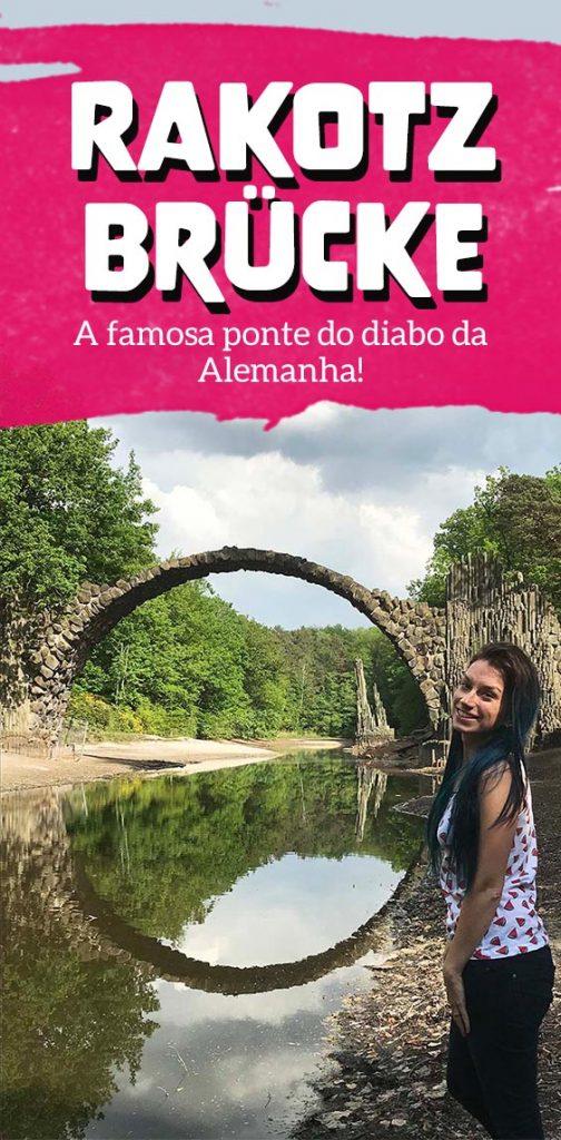 Como visitar Rakotzbrucke em Kromlau na Alemanha, a famosa ponte do diabo do instagram!