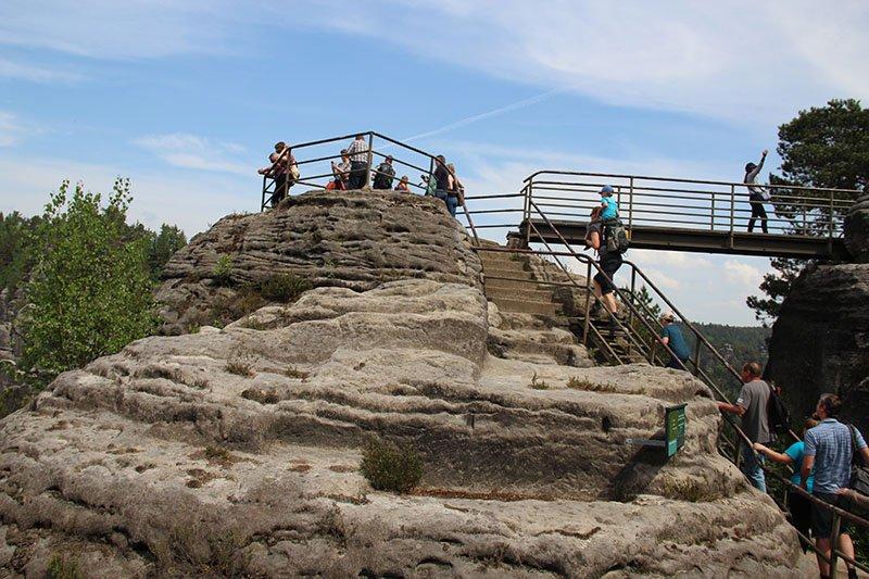 area paga bastei parque suica saxonica
