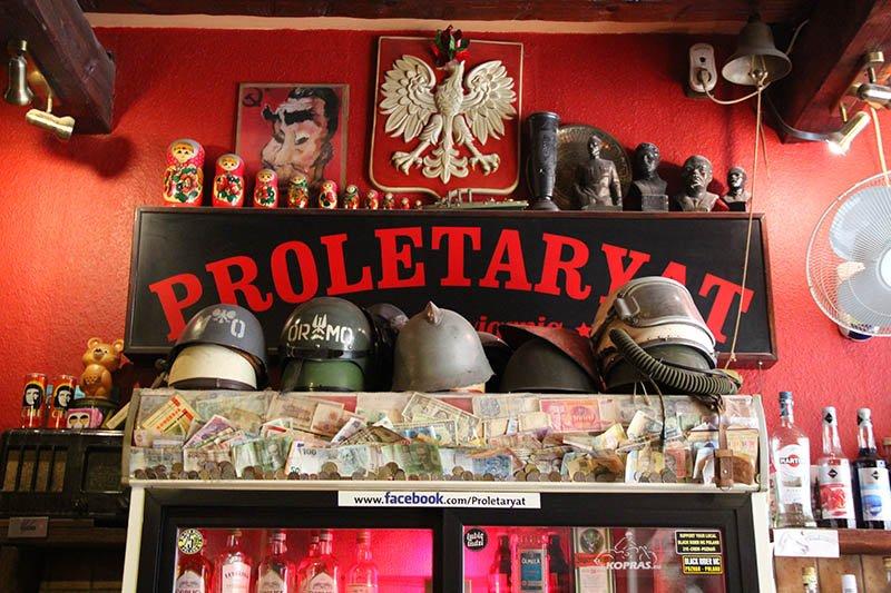 bar comunista proletaryat poznan polonia
