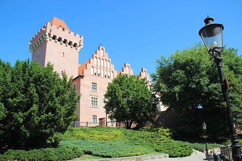 castelo de poznan polonia