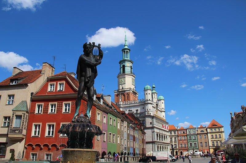 cidades para visitar na polonia poznan
