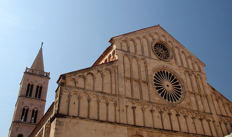 igreja torre do sino em zadar croacia