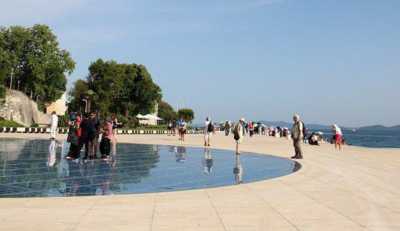 monumento saudacao ao sol riva zadar