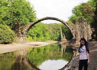 parque kromlau ponte do diabo alemanha