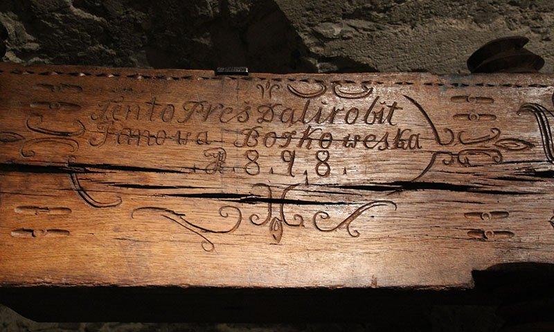 prensa antiga de uva bratislava