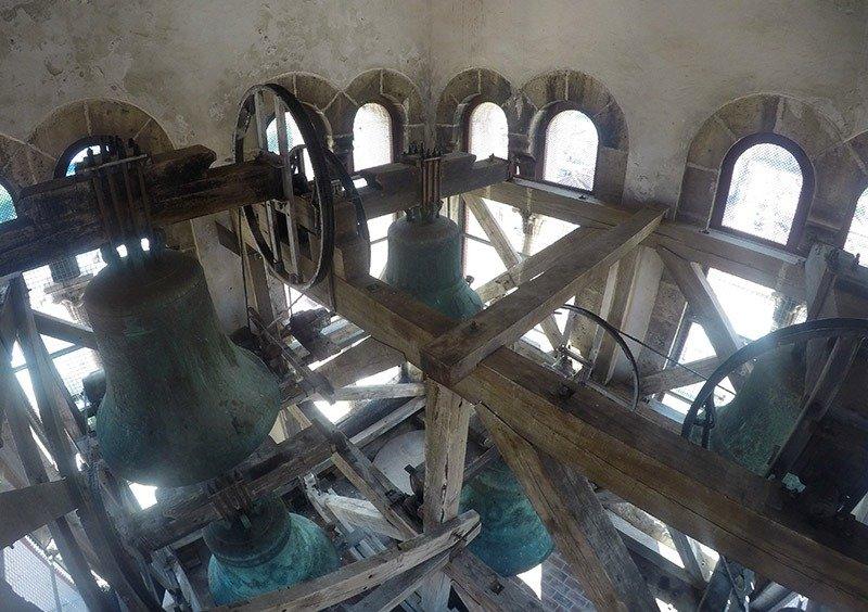 torre do sino em zadar na croacia roteiro