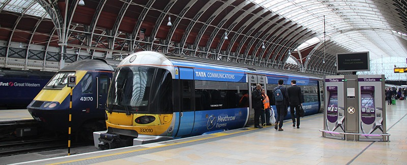 trem aeroporto de londres heathrow express