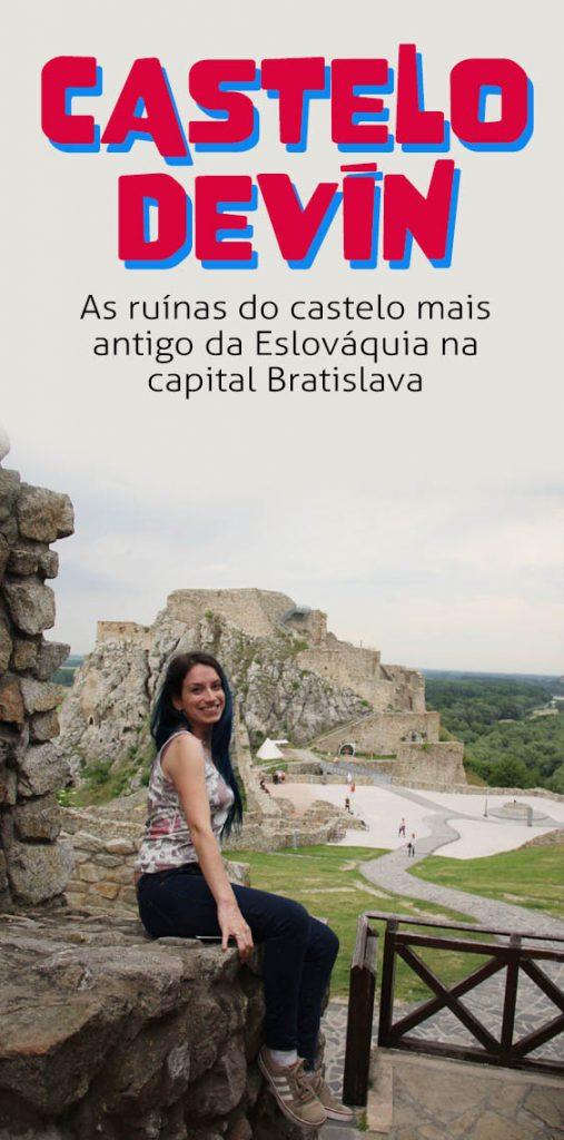 Castelo Devín, o que visitar na Bratislava Eslováquia