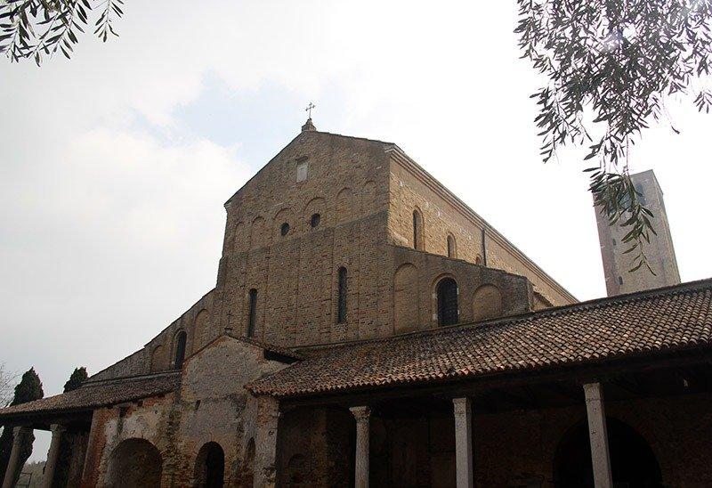 Catedral Santa Maria Assunta o que fazer em torcello veneza