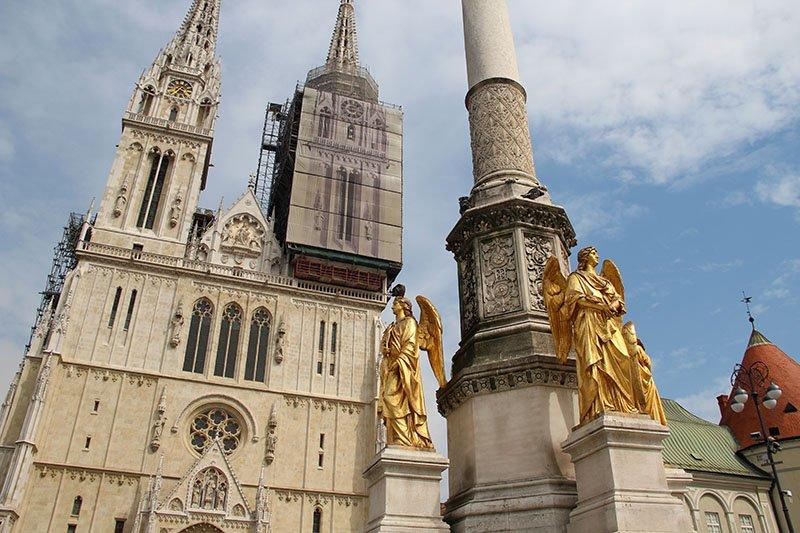 catedral de zagreb roteiro croacia
