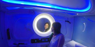 hostel futurista dormir em capsulas zagreb