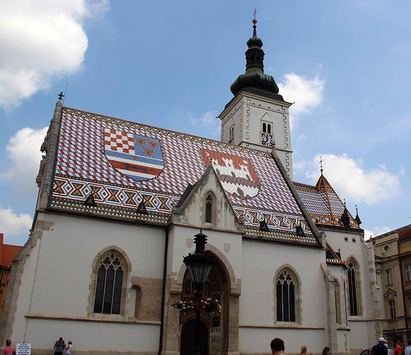 igreja mosaico roteiro em zagreb croacia