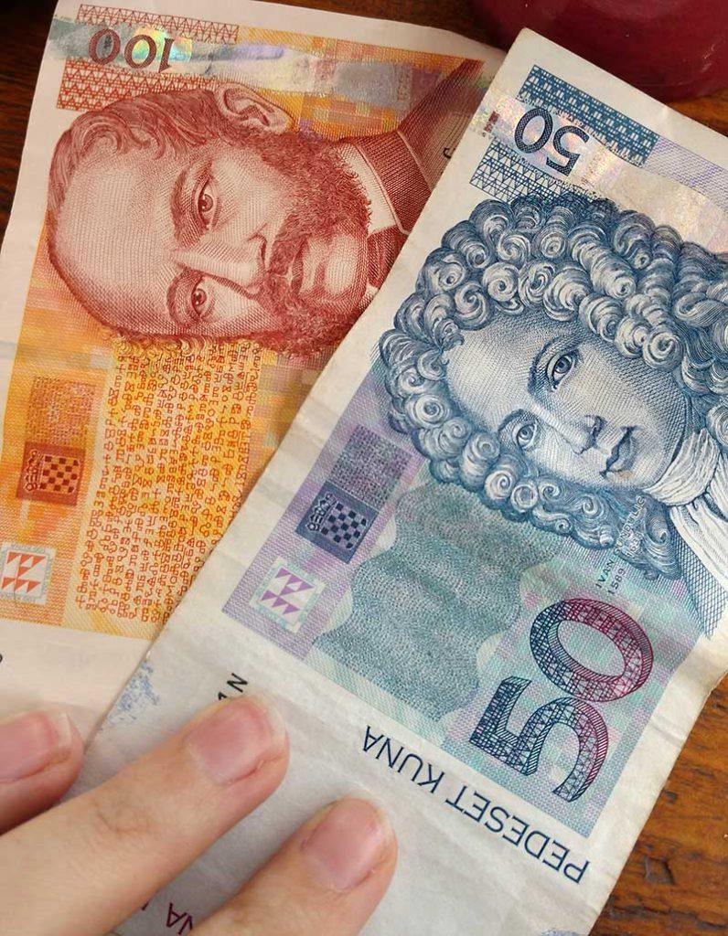 kuna moeda da croacia cotacao
