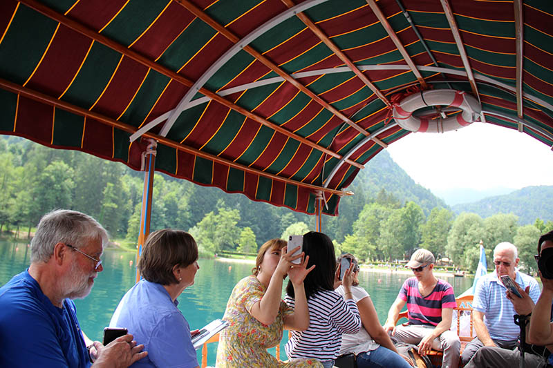 o que fazer em bled eslovenia passeio de barco