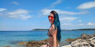 praias azuis na croacia pula