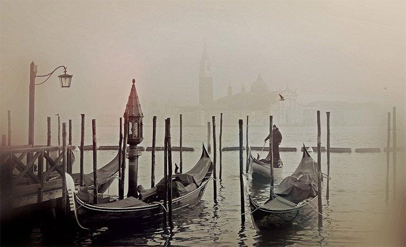 quando visitar veneza neblina