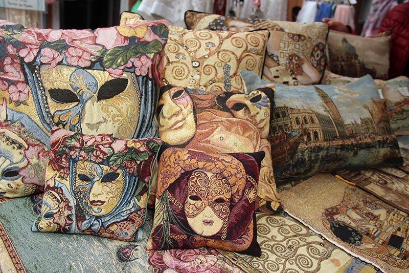 tapeçaria almofas de veneza burano