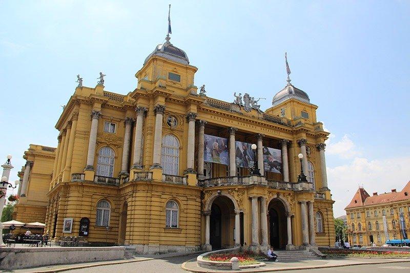 teatro nacional da croacia zagreb