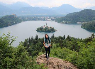 trilha melhor vista do lago bled eslovenia