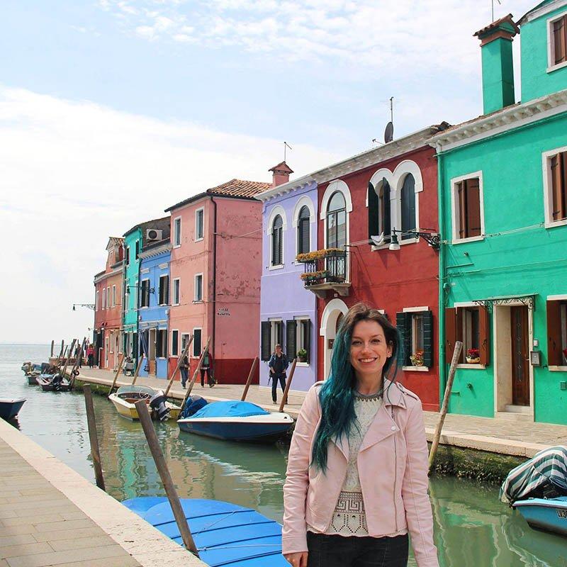 veneza ilha burano casinhas coloridas