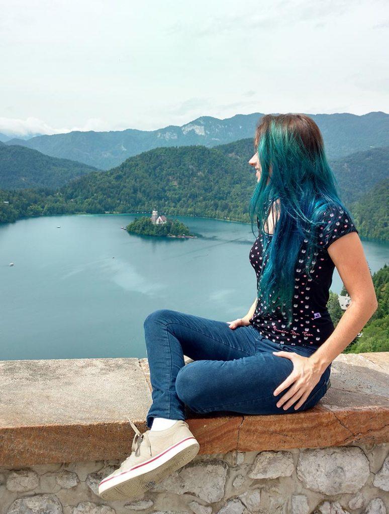 vista para o lago castelo de bled dicas valores