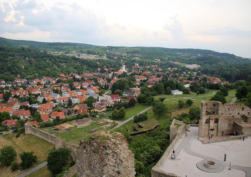 vista para vila devin castelo bratislava